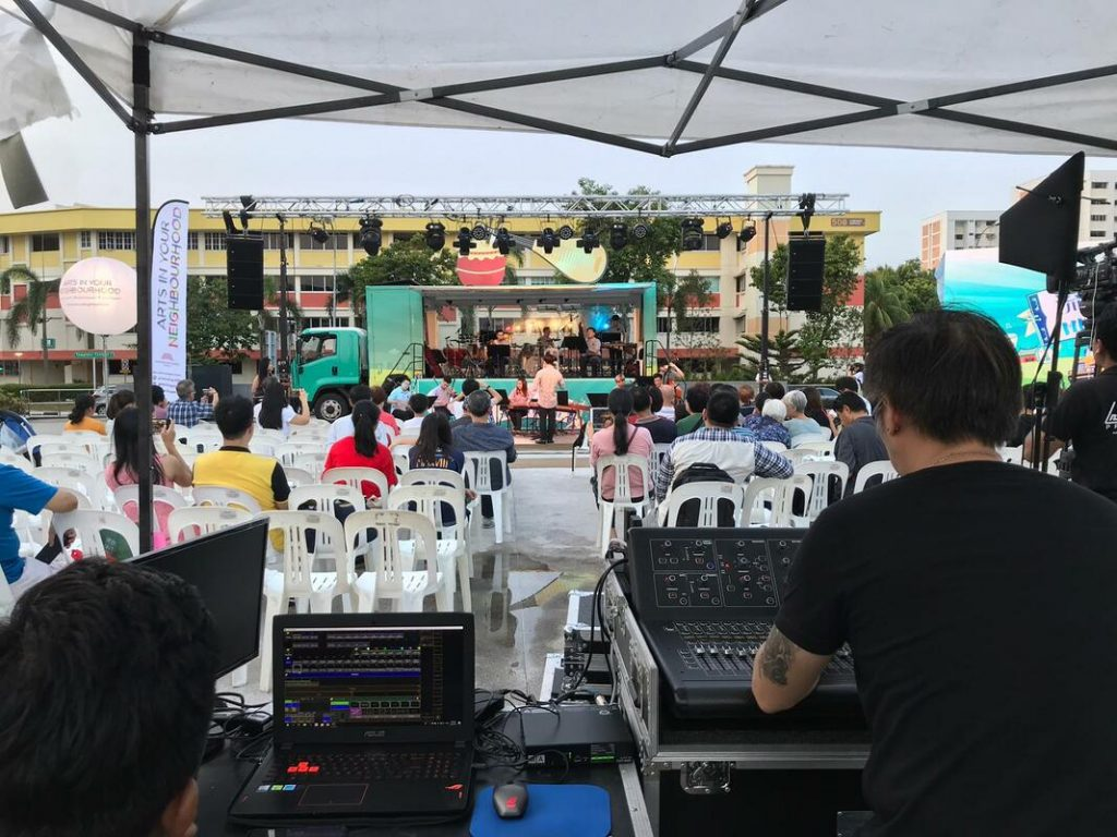 sound system for large events in Singapore