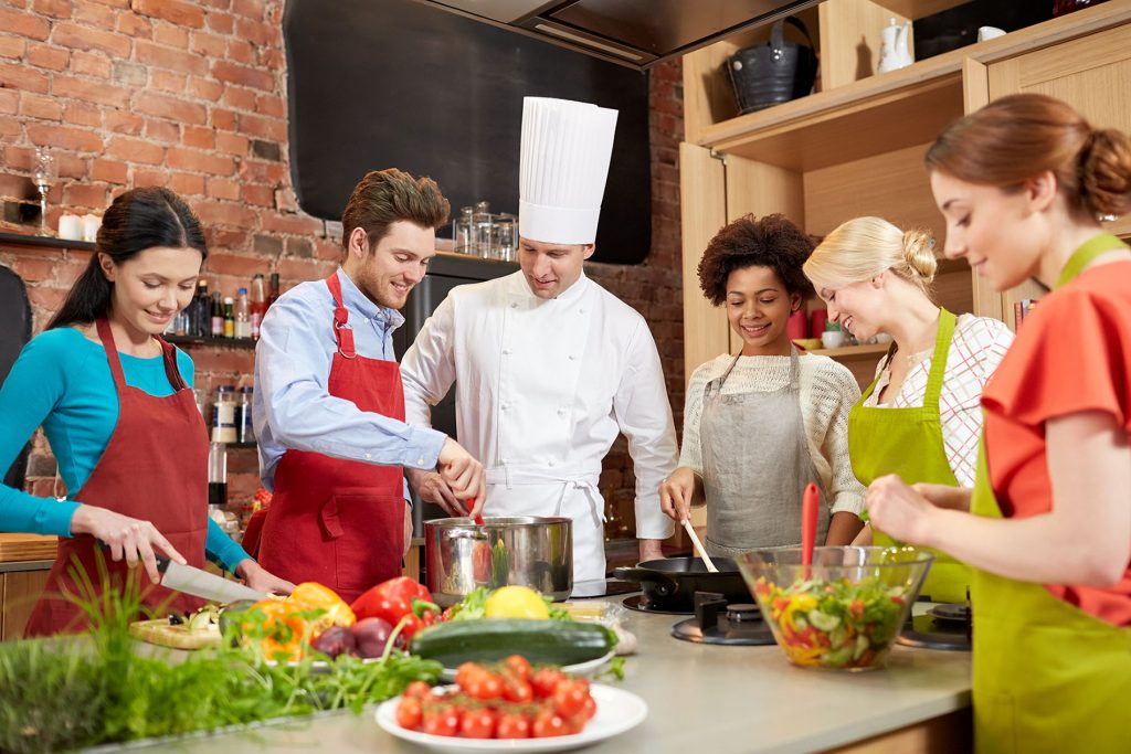 workplace culinary classes